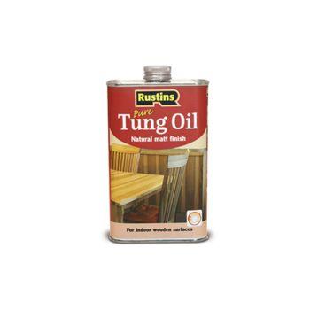 Rustins Tung Oil 500ml - RUSTUO500