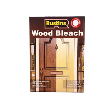 Rustins Wood Bleach Set (A & B Solution 500ml) - RUSWBS