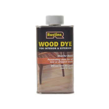 Rustins Wood Dye Red Mahogany 250ml - RUSWDRM250