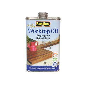 Rustins Worktop Oil 500ml - RUSWTO500