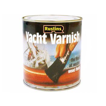 Rustins Yacht Varnish Gloss 500ml - RUSYV500