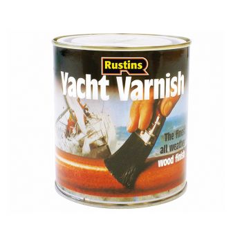 Rustins Yacht Varnish Satin 500ml - RUSYVS500
