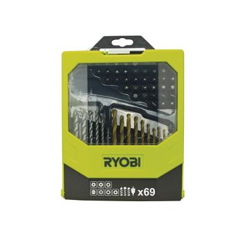 Ryobi Mixed Screwdriver Set 69 Piece - RYBRAK69MIX