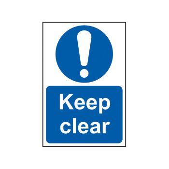 Scan Keep Clear - PVC 200 x 300mm - SCA0253