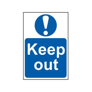 Scan Keep Out - PVC 200 x 300mm - SCA0255