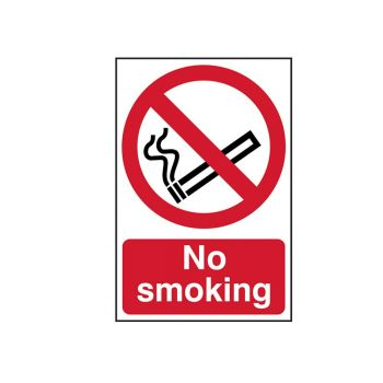 Scan No Smoking - PVC 200 x 300mm - SCA0550