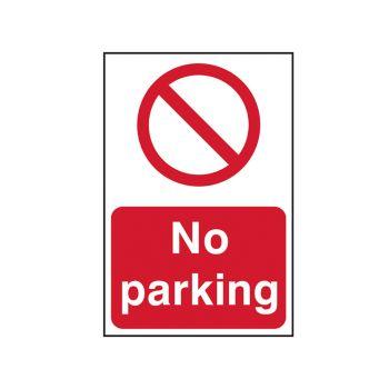 Scan No Parking - PVC 200 x 300mm - SCA0605
