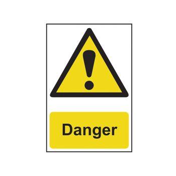 Scan Danger - PVC 200 x 300mm - SCA1301