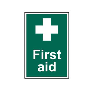 Scan First Aid - PVC 200 x 300mm - SCA1550