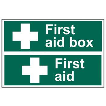 Scan First Aid Box / First Aid - PVC 300 x 200mm - SCA1553