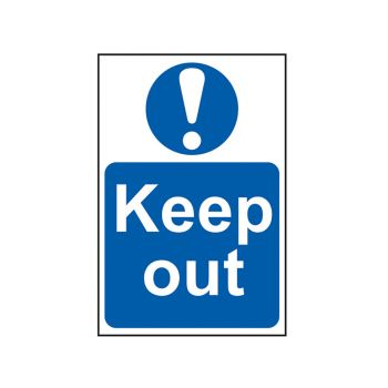 Scan Keep Out - PVC 400 x 600mm - SCA4003