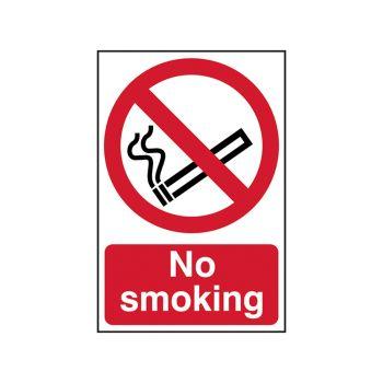 Scan No Smoking - PVC 400 x 600mm - SCA4050