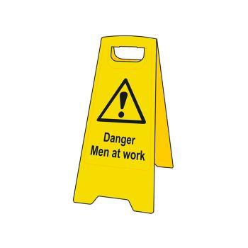 Scan Danger Men At Work Heavy-Duty A Board - SCA4710