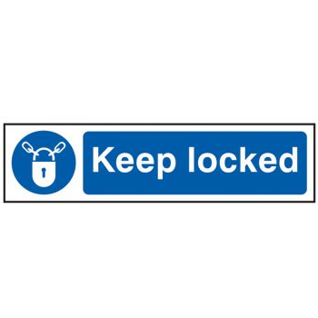 Scan Keep Locked - PVC 200 x 50mm - SCA5011
