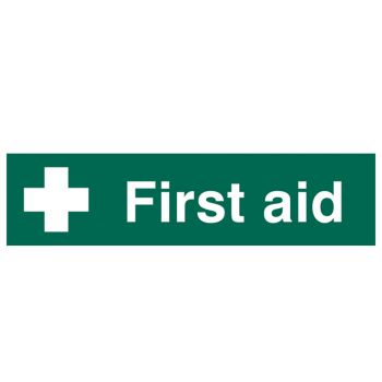 Scan First Aid - PVC 200 x 50mm - SCA5212