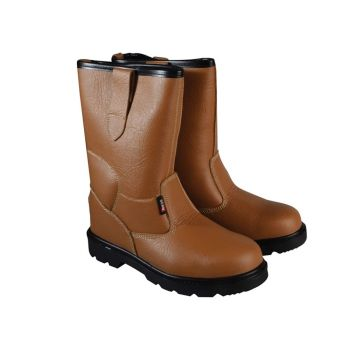 Scan Texas Lined Tan Rigger Boots UK 9 Euro 43 - SCAFWTEXAS9