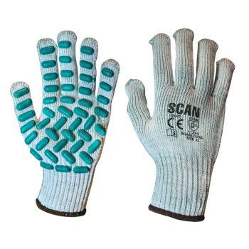 Scan Vibration Resistant Latex Foam Gloves - XL (Size 10)