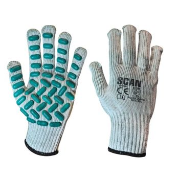Scan Vibration Resistant Latex Foam Gloves - XXL (Size 11)