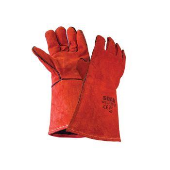 Scan Welders Gauntlet - Red - SCAGLOWELRED