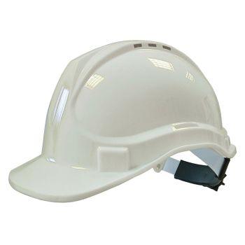 Scan Deluxe Safety Helmet White - SCAPPESHDELW