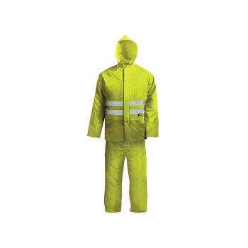 Scan Hi-Visibility Rain Suit Yellow - XXL (45-49in) - SCAWWHVRSYXX