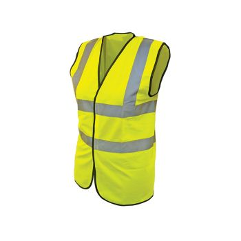 Scan Hi-Vis Waistcoat Yellow - Child 7-9 (32in) - SCAWWHVWC9