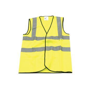 Scan Hi-Vis Waistcoat Yellow - XL (48in) - SCAWWHVWXL