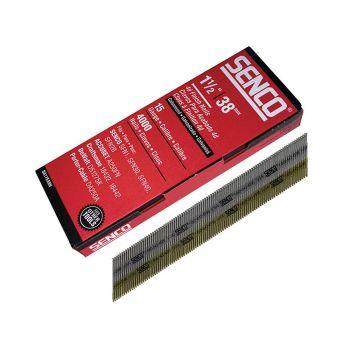 Senco Chisel Smooth Brad Nails Galvanised 15G x 38mm Pack of 4,000 - SENDA17EAB