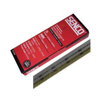 Senco Chisel Smooth Brad Nails Galvanised 15G x 44mm Pack of 4,000 - SENDA19EAB