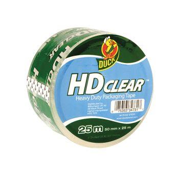Shurtape Duck Tape Packaging Heavy-Duty 50mm x 25m Clear - SHU222181