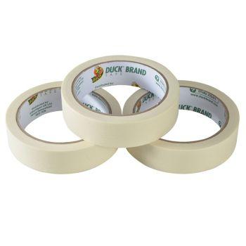 Shurtape Duck Tape All Purpose Masking Tape 25mm x 25m Pack of 3 - SHU260121