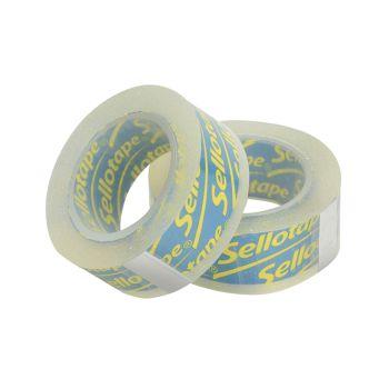 Sellotape On-Hand Refill 18mm x 15m Pack of 2 - SLT1740339