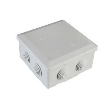 SMJ IP44 Junction Box 5T 100 x 100 x 55mm - SMJEPJBL6