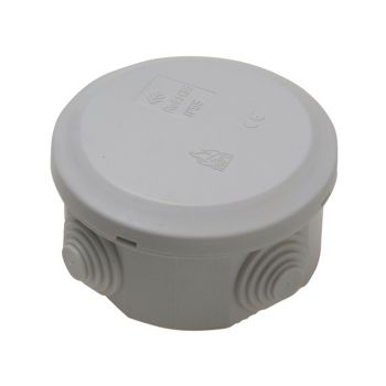 SMJ IP44 Junction Box 5T 70 x 70 x 40mm - SMJEPJBR4