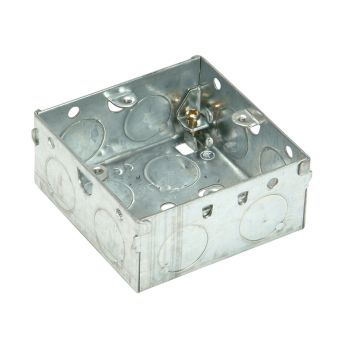SMJ Metal Box 1 Gang 35mm Depth - Loose - SMJMBB35S