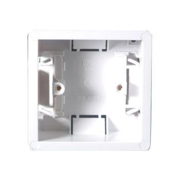 SMJ Dry Lining Box Single 35mm with Eurohook - SMJPPDL1GH