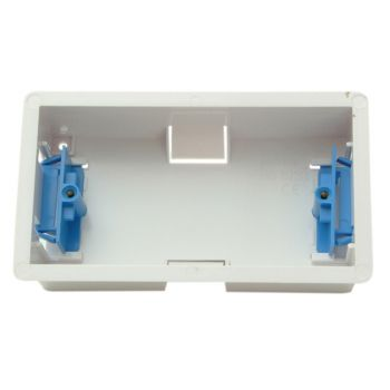SMJ Dry Lining Box Double 35mm With Eurohook - SMJPPDL2GH