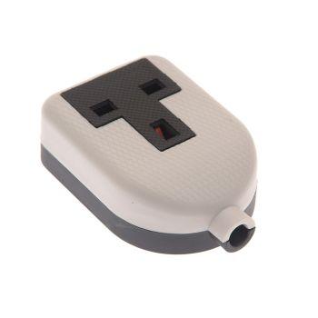 SMJ White Extension Socket 13A 1 Gang - SMJRTS1GW