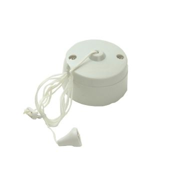 SMJ Ceiling Switch 6A 1 Way (White) - SMJW61CSC