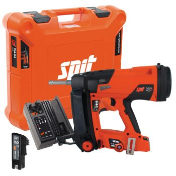 Spit Pulsa 40P+ Gas Nailer with 1 x 2.1Ah Battery, Charger & Case
