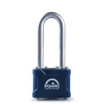 "Squire 37/2.5MK - Stronglock Pin Tumbler 45mm Laminated Double Locking Padlock - Long Shackle 2.5"" - Master Keyed"