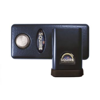 Squire HLS50S Restricted Profile - Stronghold Hardened Steel S.G. Iron Hasp and Lock