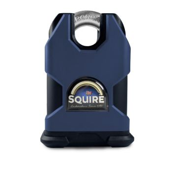Squire SS50CSKA Restricted Profile - Stronghold 50mm Hardened Steel Padlock - Closed Shackle - Keyed Alike