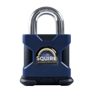 Squire SS50S Restricted Profile - Stronghold 50mm Hardened Steel Padlock - Open Shackle