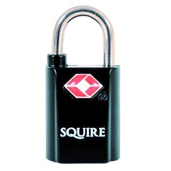 Squire TSA20T -  Twinpack 2 x 20mm TSA approved Luggage Padlocks - Alike Padlock