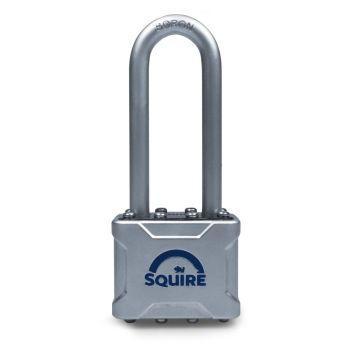 "Squire VULCAN P4 50 Padlock - Long Shackle 2.5"""