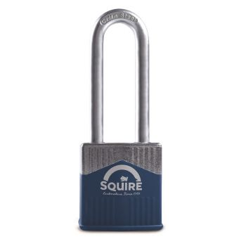 """Squire Warrior 45mm Padlock - Long Shackle 2.5"""""""