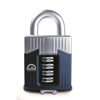 Squire Warrior 55mm Combination padlock - 4 Wheel