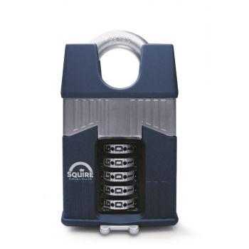 Squire Warrior 65mm Combination padlock - 5 Wheel - Closed Shackle