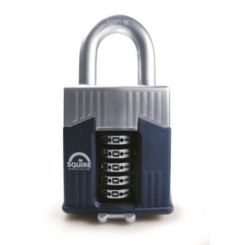 Squire Warrior 65mm Combination padlock - 5 Wheel